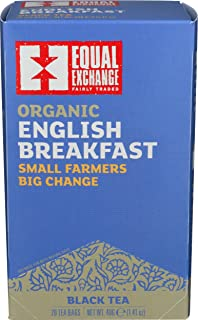 Organic English Breakfast Tea Equal Exchange 20 Bags Box