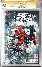 Amazing Spider-Man #700 Ramos Variant Wraparound Cover Signed byDan Slott & Humberto Ramos and CGC 9.8 VNM!! (Amazing Spider-Man)