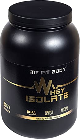 MYFITBODY Whey Isolate Elite - Aislado de Proteína de Suero ...
