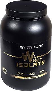 MYFITBODY Whey isolate elite - aislado de proteína de suero de leche, sabor vainilla - 907 gr