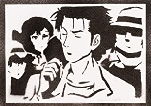 Poster Steins;Gate Rintarou Okabe Grafiti Hecho a Mano - Handmade Street Art - Artwork