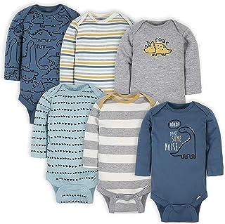 Baby Boys 6-pack Long-sleeve Onesies Bodysuit