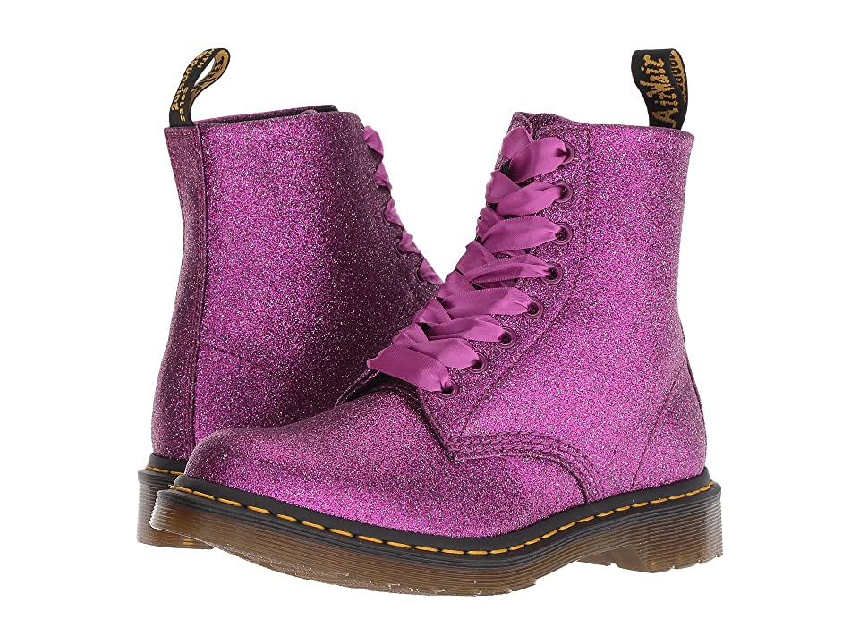 Dr. Martens 1460 Pascal Glitter Core (Purple Multi Glitter PU) Women
