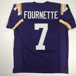Unsigned Leonard Fournette LSU Purple Custom Stitched College Football Jersey Size Men's XL New No Brands/Logos