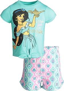 223a06596 Disney Aladdin Princess Jasmine Toddler Girls' T-Shirt & Shorts Clothing Set