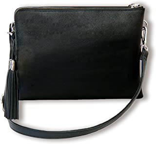 BfB Crossbody Shoulder Bag with Travel Wallet PLUS iPad Sleeve
