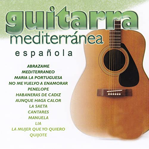 Guitarra Mediterránea Española by El Niño de la Guitarra on ...