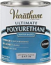 Rust-Oleum 200241H Varathane Water-Based Ultimate Polyurethane, Quart, Satin Finish