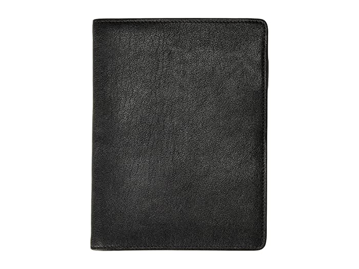 Bosca  Dolce Writers Journal - Medium (Black) Wallet