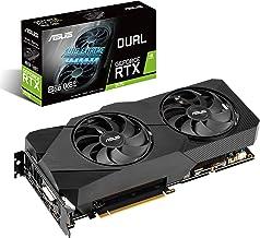 ASUS Dual NVIDIA GeForce RTX 2070 EVO V2 OC Edition Gaming Graphics Card (PCIe 3.0, 8GB GDDR6 memory, HDMI, DisplayPort, D...