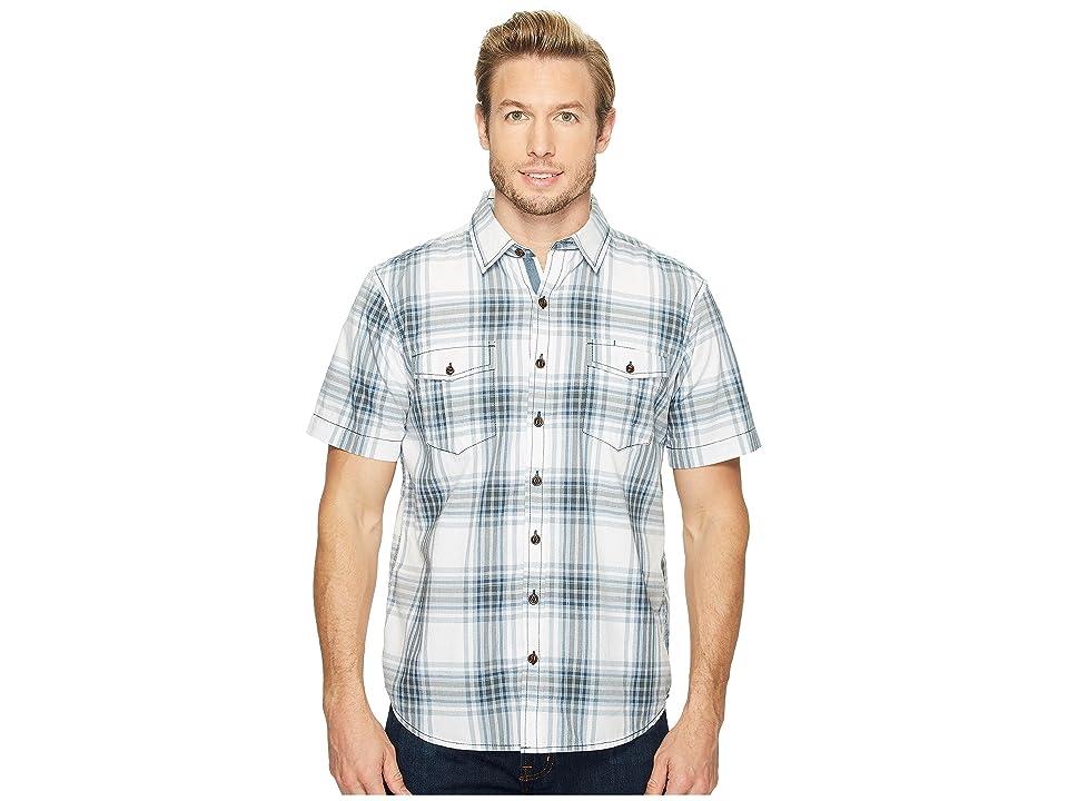 Ecoths Caldwell Short Sleeve Shirt (Bering Sea) Men