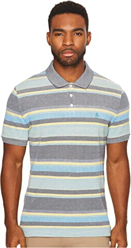 Original Penguin - Short Sleeve Birdseye Auto Stripe