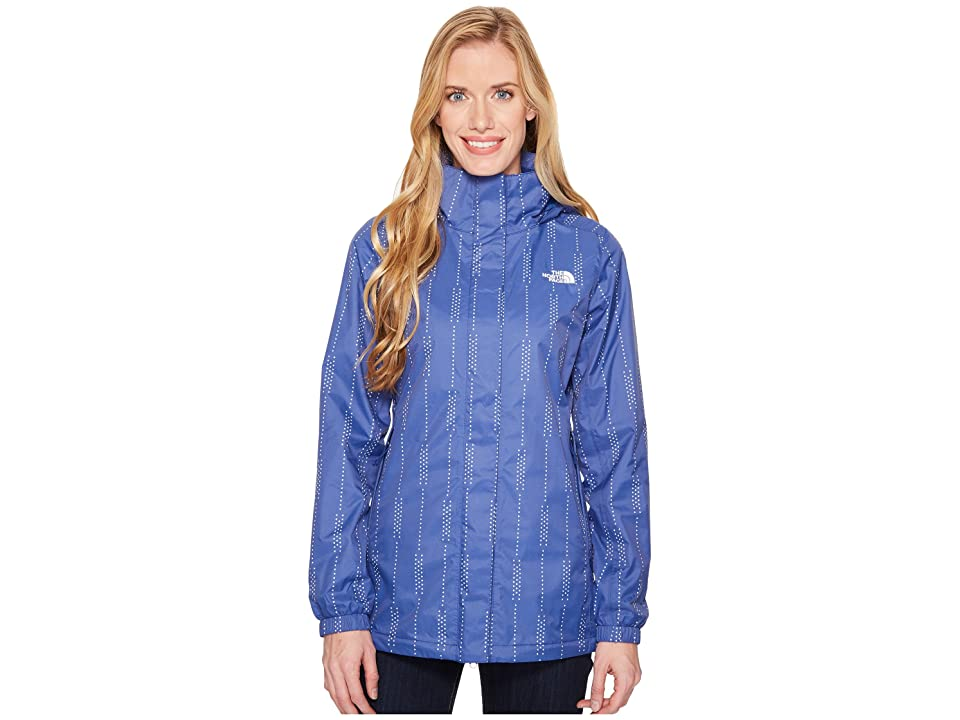 The North Face Resolve Parka (Sodalite Blue Stripe Print) Women