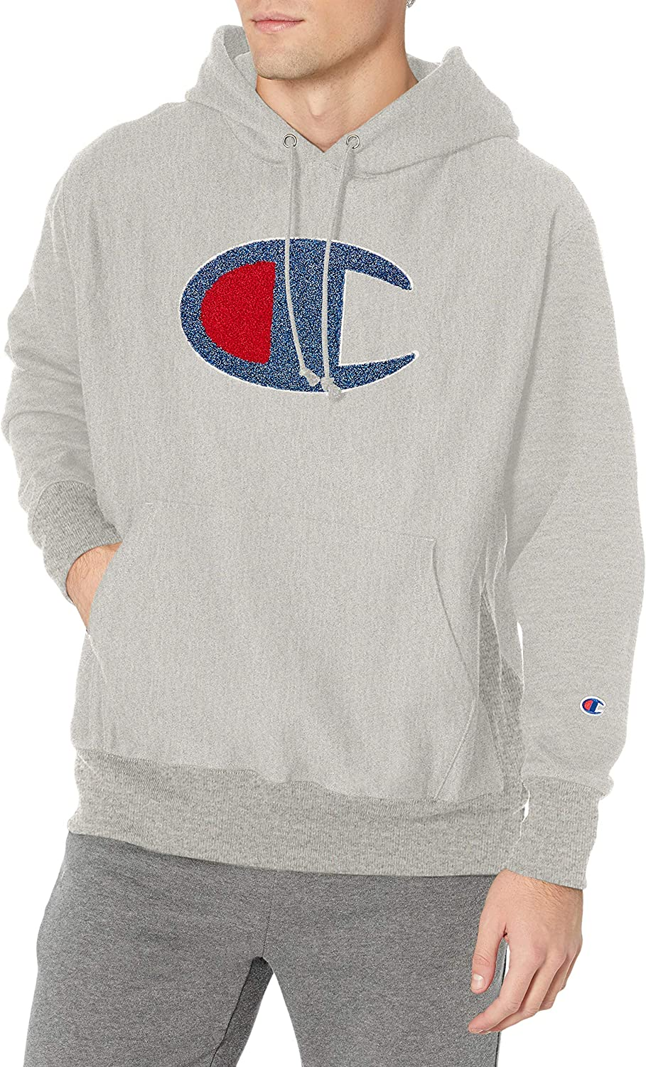 Champion Max 73% OFF Men's Reverse Graphic Weave Pullover Seasonal Wrap Introduction