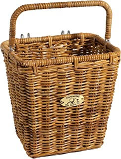 Nantucket Bicycle Basket Co. Pannier Basket with Hooks