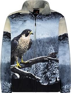 fleece jacket with animals