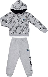 Fila Boys Two Piece Fleece Pant Sets with Hooded Sweatshirt Kids 2-7 Clothes