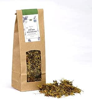 Bio Organic Hypericum / St John's wort flowers from Mount Pelion Greece - GMO / Caffeine Free