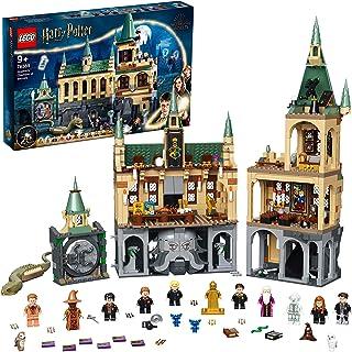 LEGO 76389 Harry Potter la Chambre des Secrets de Poudlard Jouet Château avec Grande Salle + Figurine Edition 20ème Annive...