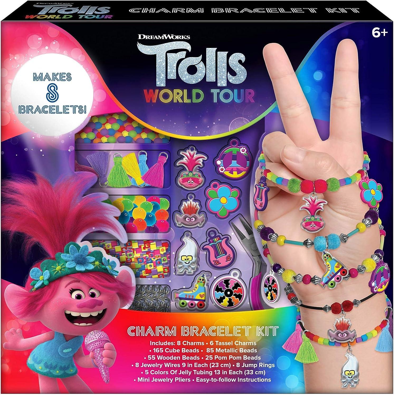 Trolls World Tour Girls Charm Luxury Bracelet Making - Makes Set New popularity Crafts