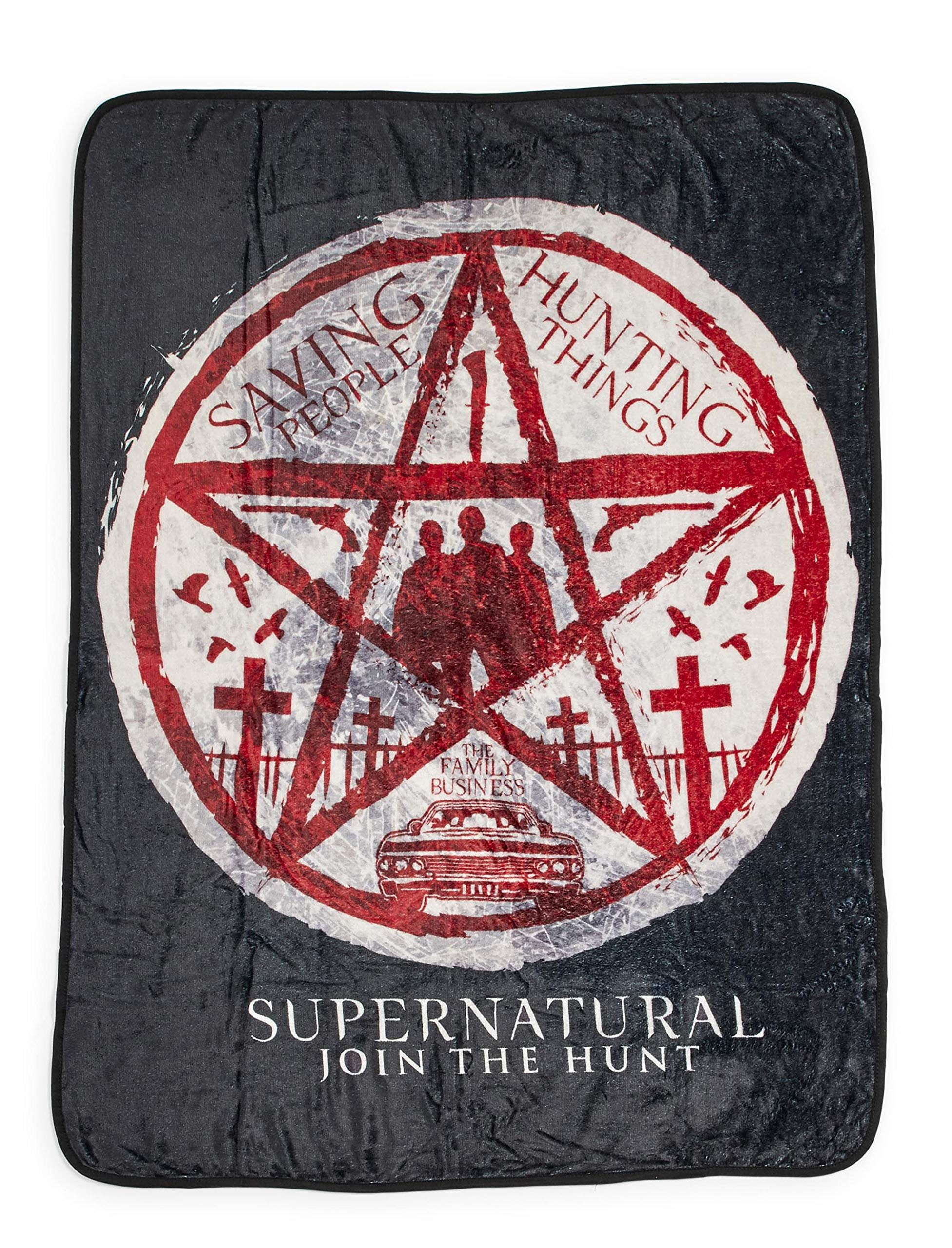 DoubleUSA Supernatural Jensen Ackles Jared Padalecki Pillowcases Two Sides Print Zipper Pillow Covers 20x30