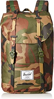 Herschel Retreat Backpack, Woodland Camo/Woodland Camo, Classic 19.5L