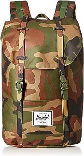 Herschel Retreat Backpack, Woodland Camo, One Size