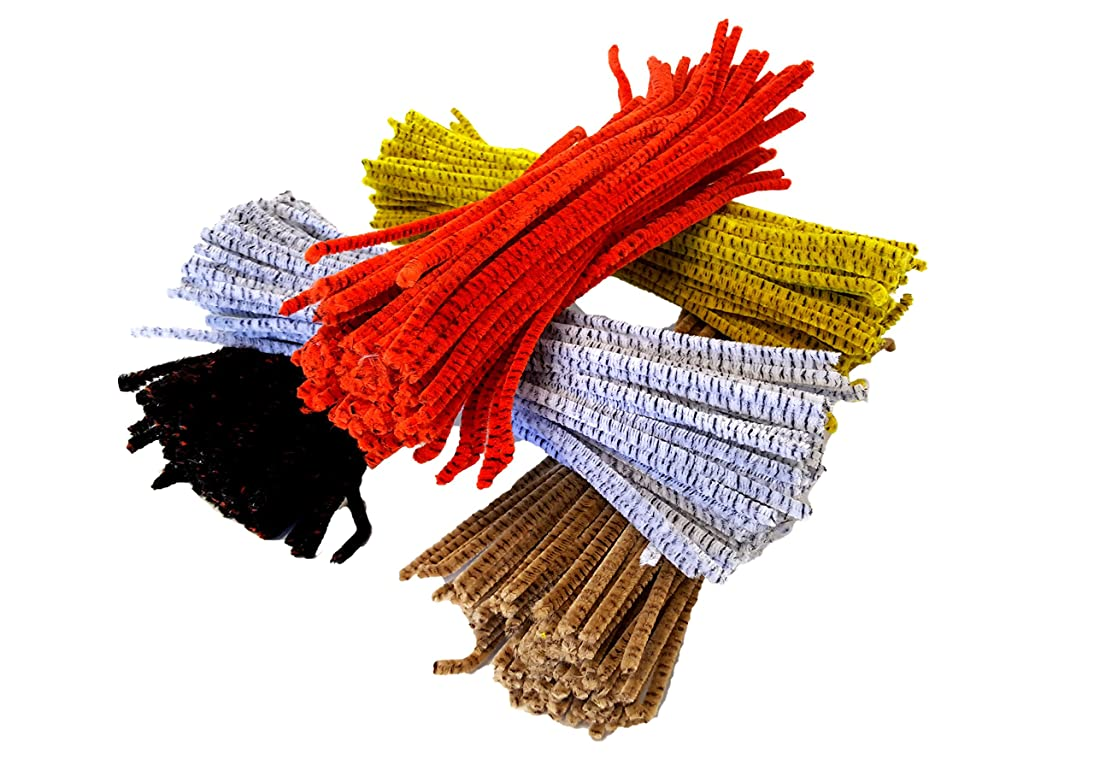 Playscene' Jumbo DIY Craft Kit, Pompons, Pipe Cleaners, Wiggle Eyes, Huge Selection Craft Kit (PIPECLEANERS)
