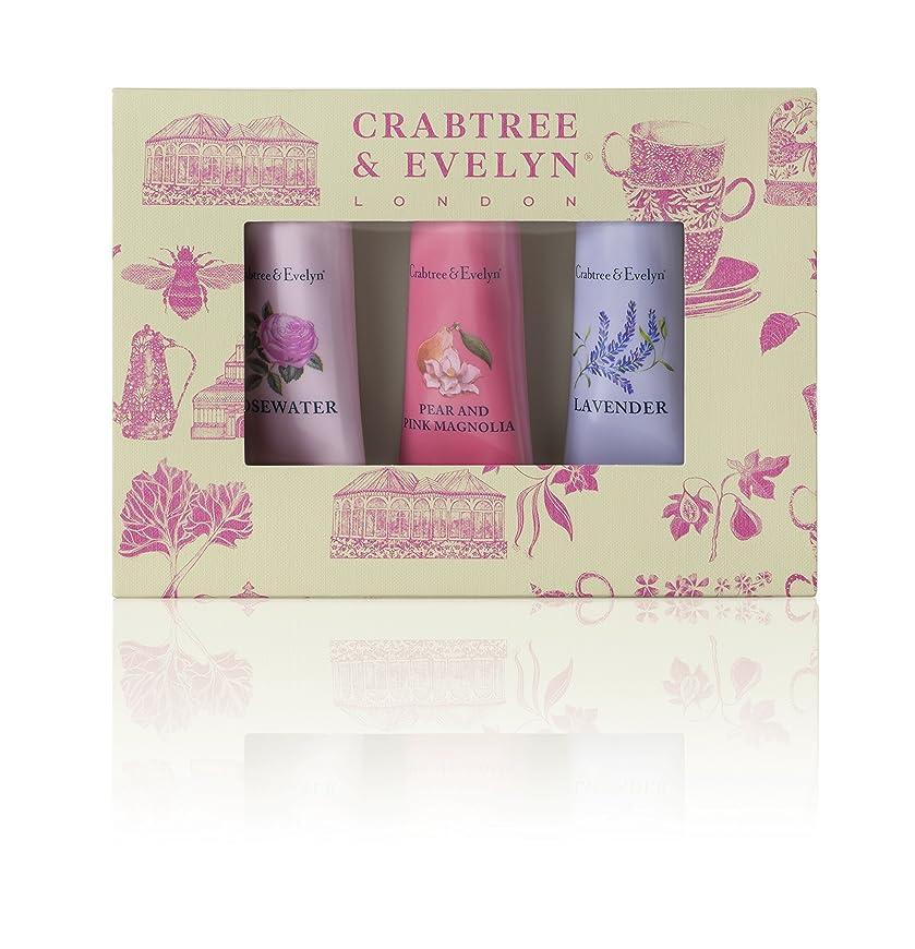 経過脚本囲いクラブツリー&イヴリン Florals Hand Therapy Set (1x Pear & Pink Magnolia, 1x Rosewater, 1x Lavender) 3x25g/0.9oz並行輸入品