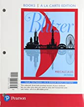 Precalculus, Books a la Carte Edition (6th Edition)
