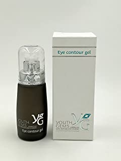Youth Gems Eye Contour Gel - Cosmetics with Peptides and Ginseng extract