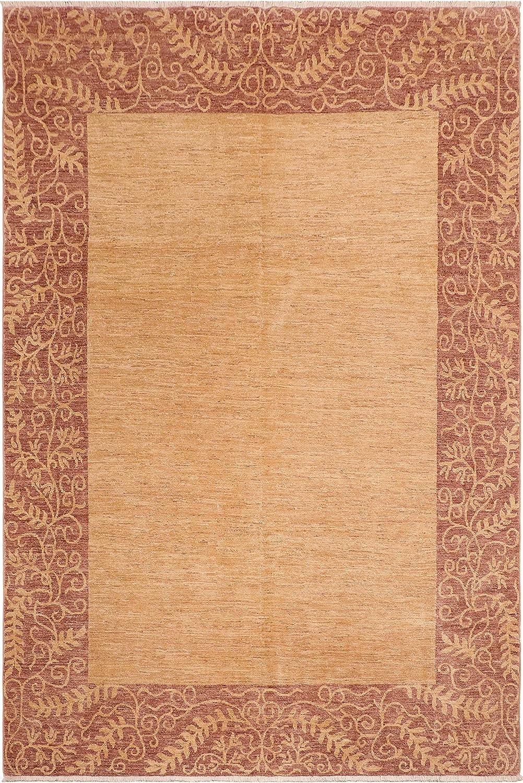 Modern Ziegler Alita Tan Brown Wool Sale price Rug Ranking TOP18 7'11'' x 10'3'' -