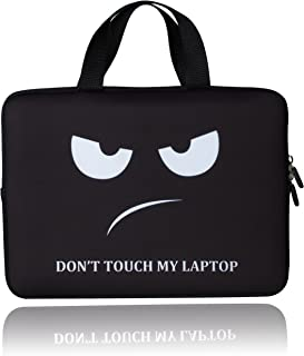 BRILA 12 inch Laptop Sleeve Tote Bag – Waterproof Neoprene Soft Carrying Case Cover bag with handle for 10.6 11 11.6 12 12.2 inch Apple/Macbook/Asus/Acer/Samsung/DELL/HP/Lenovo/Sony/RCA notebook