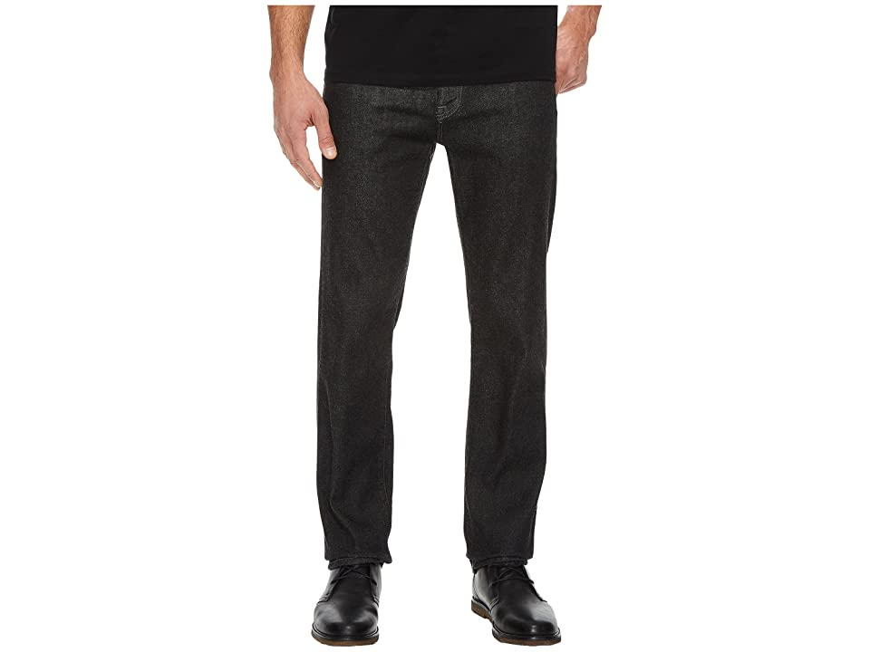 Agave Denim Rocker Fit Sweet Cotton in Black (Black) Men's Jeans