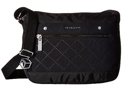 Hedgren Lapis Crossbody (Black) Cross Body Handbags