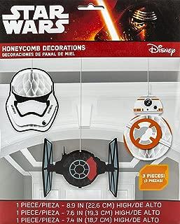 Star Wars Episode VII Honeycomb Decoration, Party Favor
