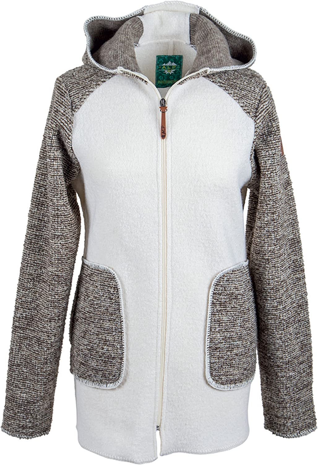 Alp by Brush Ladies AustrianWool with Hood and WoolMix Inserts