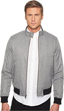 P55 Heathered Poly Harrington