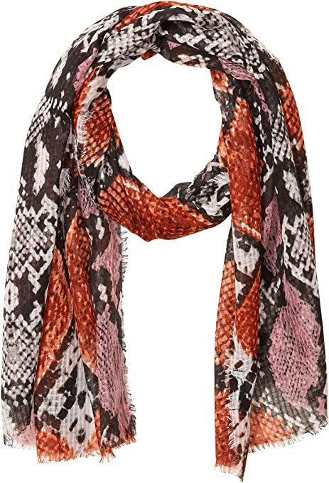 Emporio Armani Women's Pleated Skinny Scarf
