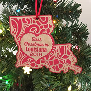First Christmas in Louisiana 2019 Christmas Ornament