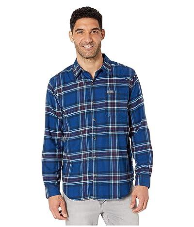 Columbia Boulder Ridge Long Sleeve Flannel (Azul Tartan) Men