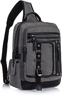 Fashion Messenger Bag Sling Bag Outdoor Cross Body Bag Shoulder Bag Gray