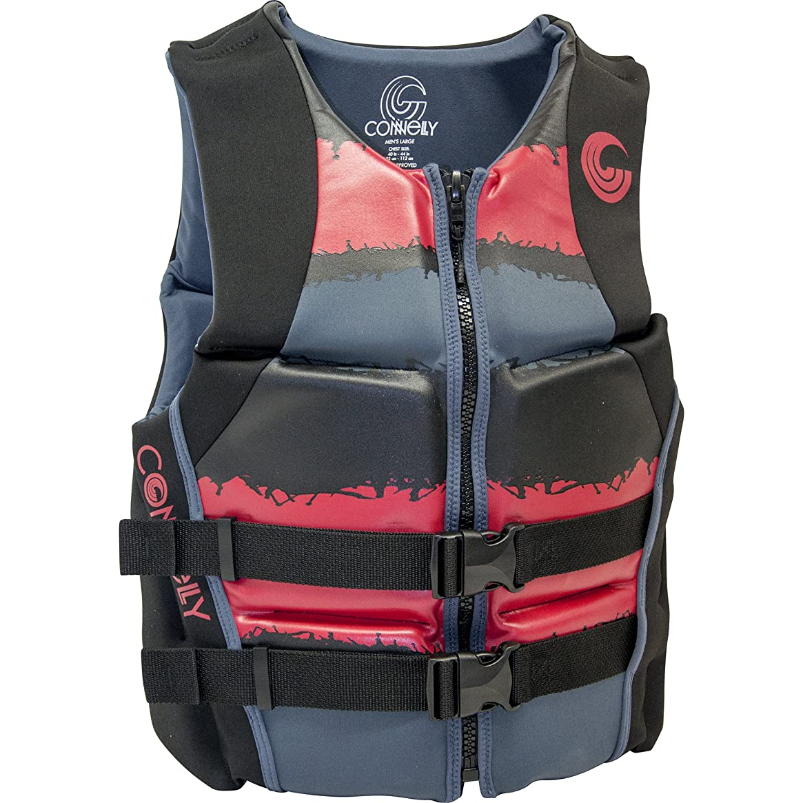 CWB Connelly Men's Neo Vest Uscga - Red, M