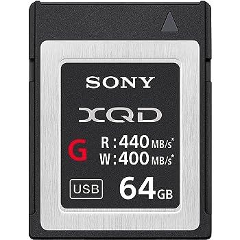Sony Professional XQD G Series 64GB  Memory Card (QDG64E/J)