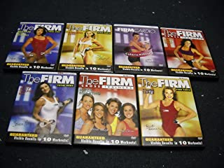 The Firm 7-DVD Set:-Maximum Body Shaping/Standing Legs/Calorie Killer 2/Total Body Shaping Mix/Tough Tape 2/Super Sculpting/Lower Body Split