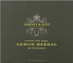 Harney & Sons Herbal Tea, Lemon, 50 Tea Bags
