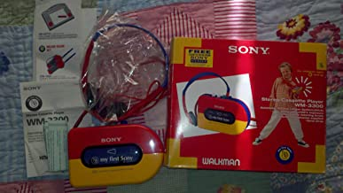 Rare Sony Walkman WM-3300 My First Sony Stereo Cassette Player 1994