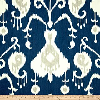 blue ikat fabric by the yard
