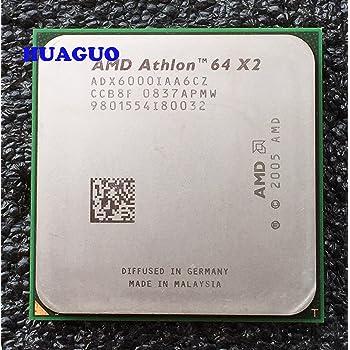 Amazon Com Amd Athlon 64 X2 6000 3 Ghz Dual Core Cpu Processor Adx6000iaa6cz Socket Am2 2mb 125w Computers Accessories