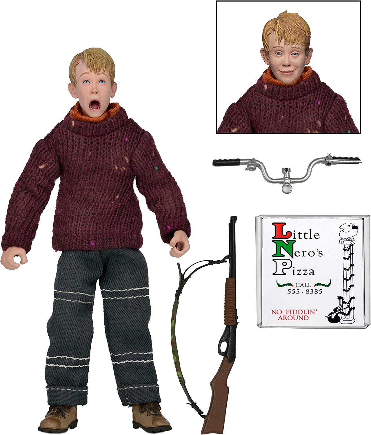 Neca Home Alone 8 Inch Clothed Kevin Figure